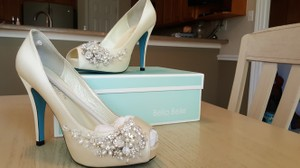 Beaded Jewelry Wedding Shoes