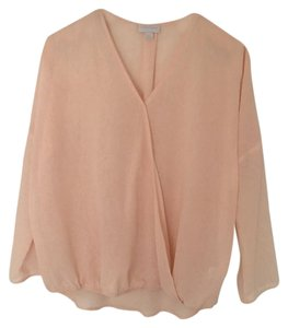 New York & Company Top Light pink