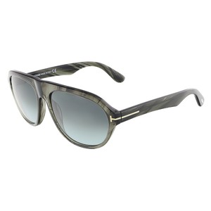 Tom Ford Tom Ford Grey Marble Oval Sunglasses