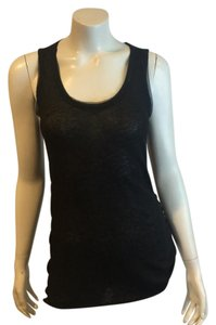 Rag & Bone And Racerback Tank Sleeveless Top Black