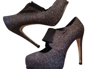 City Streets Sparkle Mary Jane Classic Black Pumps