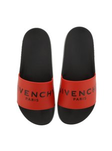 Givenchy Slide Pool red Sandals