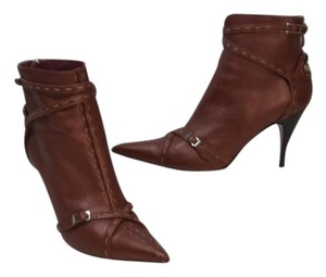 Fendi Red Burgundy Boots