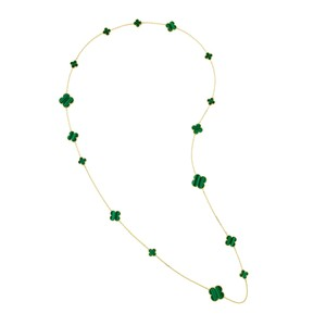 Van Cleef & Arpels Van Cleef & Arpels malachite necklace MAGIC