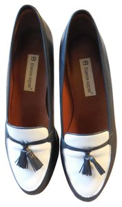 Etienne Aigner New Without Tags Tassels Leather Navy Flats