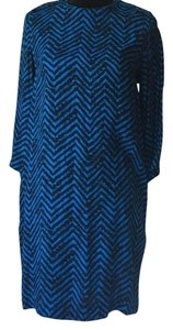 By Malene Birger short dress Black Blue on Tradesy