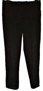 True Meaning Cropped Ankle Straight Legs Capris Classic Capri/Cropped Pants Black