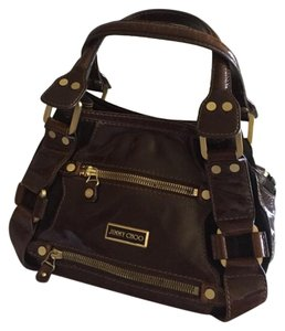 Jimmy Choo Satchel in Whiskey brown