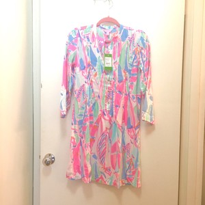 Lilly Pulitzer short dress Out To Sea Multi Preppy on Tradesy