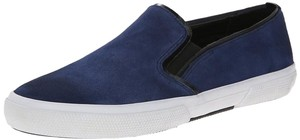 Kenneth Cole Reaction Suede Sneakers Slide-ons Suede Navy & Black Flats