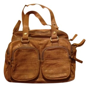 Chocolat Blu Satchel in Light Brown/Beige/Camel