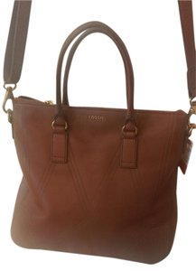 Fossil Strap Leather Cross Body Bag