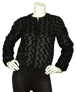 L'AGENCE Bomber Textured Jacket