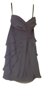 Bill Levkoff Layered Mid Thigh Dress