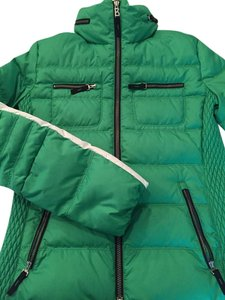 Bogner Ski Winter Kelly green with White strip down arms Jacket