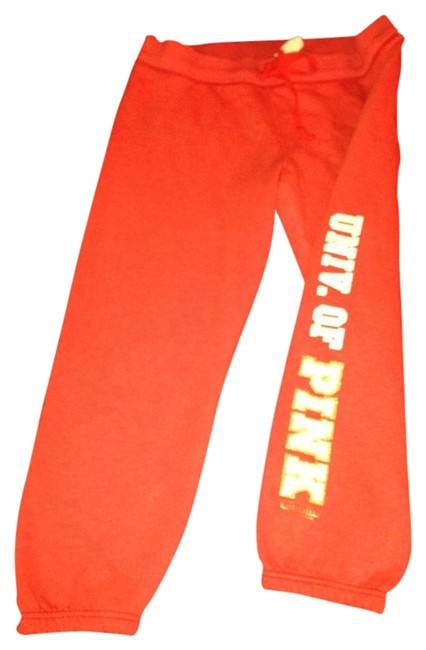 Item - Orange Pink Activewear Bottoms Size 12 (L, 32, 33)
