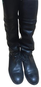 Frye Tall Boot Leather black Boots