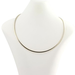 Reversible Omega Chain Necklace 17 1/2
