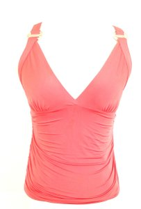 Versace Runched Top Coral