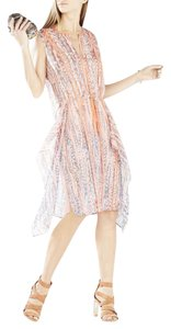 BCBGMAXAZRIA short dress ambrosia pink Silk on Tradesy