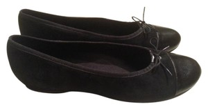 Munro American Made In Usa Ballet Size 12 Black Flats
