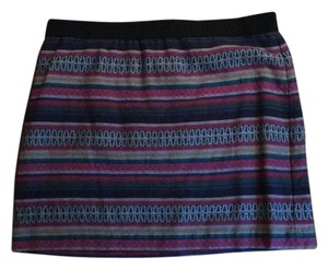 American Eagle Outfitters Mini Skirt Multi color