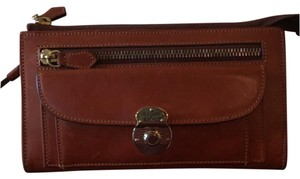 Dooney & Bourke Wristlet in Saddle