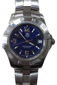 TAG Heuer Tag Heuer Sports Watches 200m Stainless Steel WN1112 Blue Dial