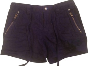 Tommy Hilfiger Linen Mini/Short Shorts navy