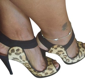 Other black and tan/ animal print Platforms