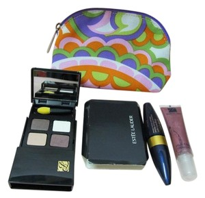 Estée Lauder NEW ESTEE LAUDER CLINIQUE 4-PC MAKEUP SET EYESHADOW LIPGLOSS MASCARA