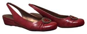 Naturalizer Red Wedges
