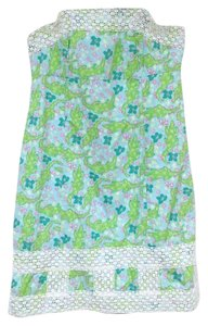 Lilly Pulitzer short dress White, Blue, Green, Pink on Tradesy