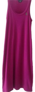 Ralph Lauren short dress Magenta on Tradesy