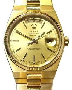 Rolex ROLEX 18 K Gold Oysterquartz Day Date Watch