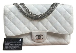 Chanel Jumbo Caviar Classic Shoulder Bag
