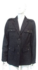 Willi Smith Gray Black Jacket