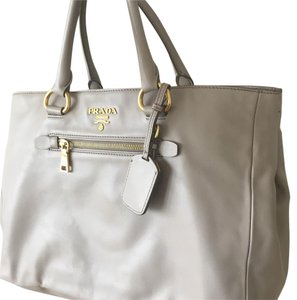 Prada Satchel in Nude