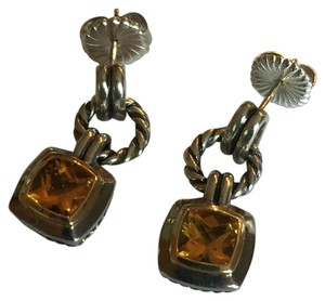 David Yurman David Yurman Citrine Drop Earrings