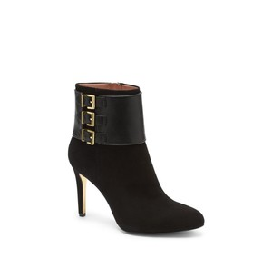 Louise et Cie Leather Buckle Sirena Suede black Boots