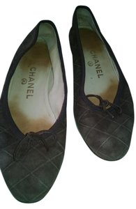Chanel Brown Flats