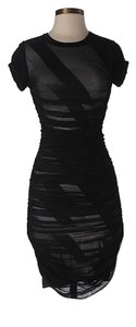 BCBGMAXAZRIA Lace Fitted Dress