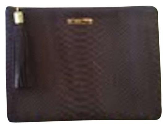 Preload https://item3.tradesy.com/images/in-one-taupe-embossed-python-leather-clutch-195507-0-0.jpg?width=440&height=440