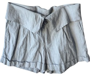 Calypso St. Barth Cuffed Shorts Grey/Light Blue