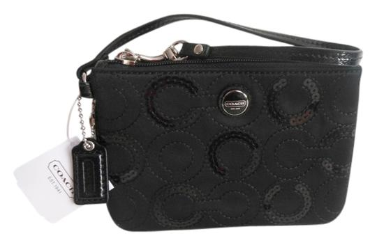 Preload https://item3.tradesy.com/images/coach-signature-satin-wallet-black-sateen-fabric-and-sequins-wristlet-1955087-0-0.jpg?width=440&height=440