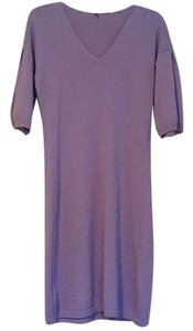 United Colors of Benetton short dress Lilac on Tradesy