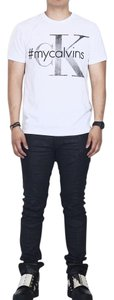 Calvin Klein Shirt Obey Hugo Boss Jcrew T Shirt white