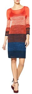 Trina Turk Ombre Knit Shift Sheath Dress