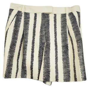 3.1 Phillip Lim Mini/Short Shorts Black and White