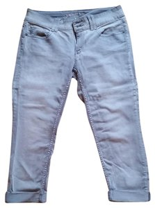 Arizona Jean Company Capri Grey Autumn Midrise Capri/Cropped Denim-Light Wash